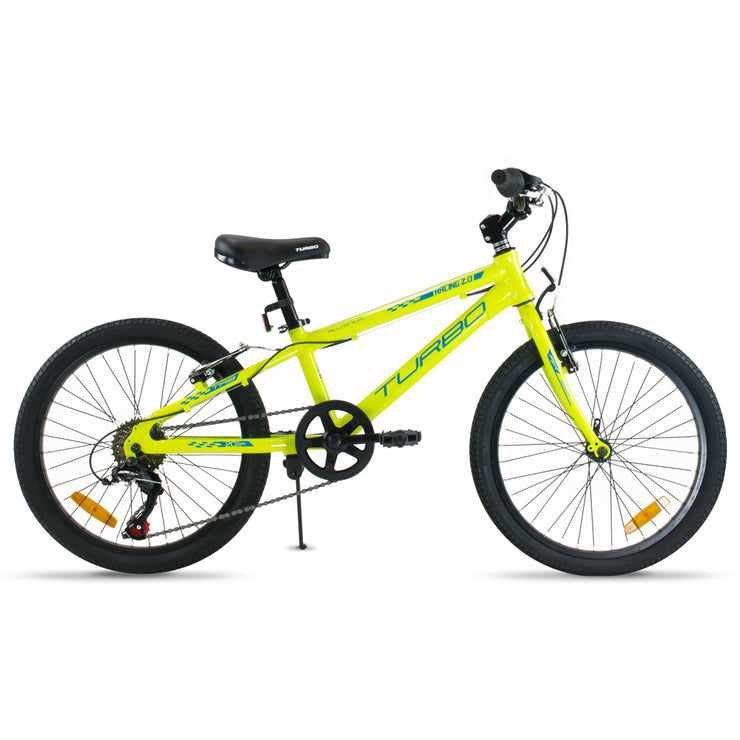BICICLETA R20 TURBO RACING NIÑO AMARILLO