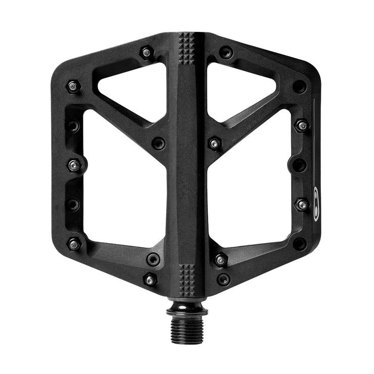 PEDALES CRANKBROTHERS STAMP 1 GRANDE/NEGRO