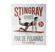 Polainas 2lbs/907g STINGRAY FITNESS SFPOL-2LB