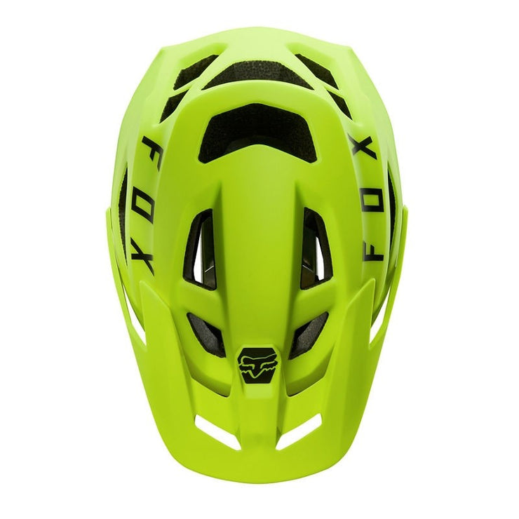 CASCO FOX SPEEDFRAME AMARILLO FLUORECENTE  LARGE