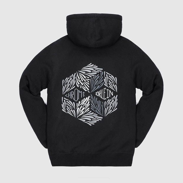 CHAMARRA CHROME DKLEIN GRAPHIC HOODIE BLACK NO. PEDIMENTO 4202923131-A