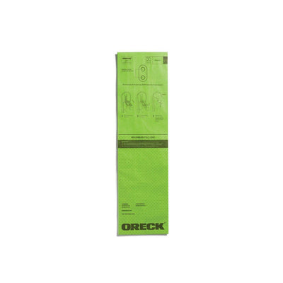 Oreck AK1CC6A Certified Replacement CC Green Select Filtration Paper Bag (6-Pack)