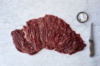 Beef - Whole Bavette (Flap Steak) 40+ Days Aged AAA Ontario Grass-Fed 2.5lb