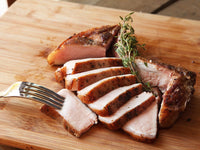 Pork - Loin Centre Cut Chop Bone-In Frenched Pastured Ontario 12oz