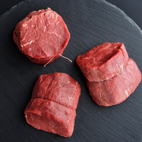 Beef - Filet Mignon Halal - AAA Ontario Beef 70 Days Dry-Aged Grass-Fed 8oz (Sold in pairs)