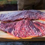 Beef - Bavette (Flap Steak) 40+ Days Aged AAA Ontario Grass-Fed Beef 12oz