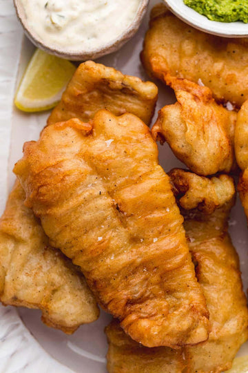 Seafood - Beer Battered Cod 8.5oz pcs (10lb)