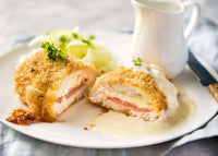 Poultry - Cordon Bleu Hand Made Daily 2 breasts (7-9oz each) x 3 packages (3lbs)