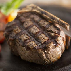Beef - Filet Mignon Bone-In 8oz - Prime 40+ Days Aged Grass-Fed Beef (2 per case)
