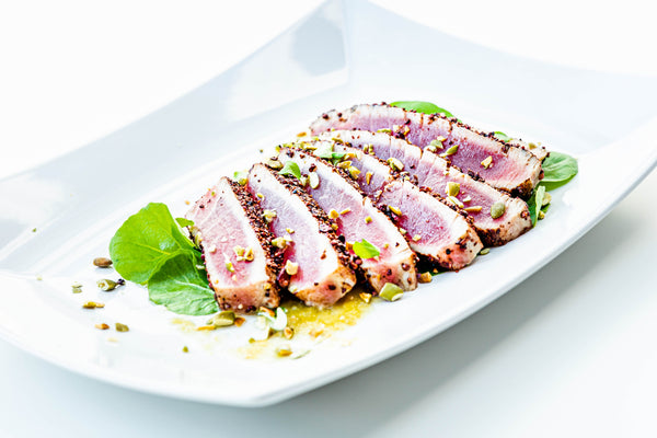 Seafood - Ahi Tuna Boneless & Skinless 6oz each (6 per case)