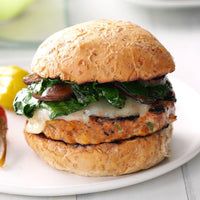 Poultry - Turkey Burgers 6oz Hand Made Daily (8 per case)