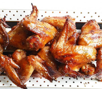 Poultry - Chicken Wings Whole Air-Chilled Free-Range Fresh Halal Ontario 1lb