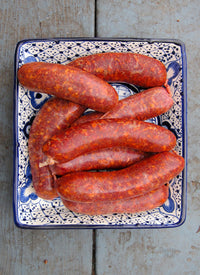 Pork - Hot Mexican Sausages (Chorizo) 4oz x 4 pcs (1lb)