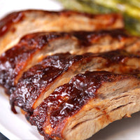 Pork - Baby Back Ribs 4.5lb average total weight 2 racks cryopacked