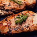 Halal - Poultry - Bone-In Skin-On Chicken Breasts 4 X 1lb