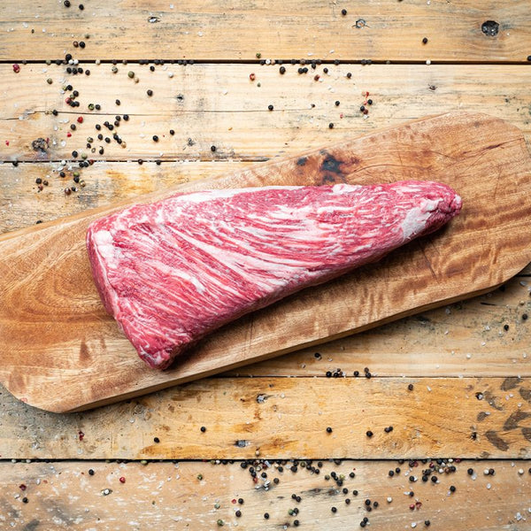 Beef - Tri-Tip MBS 7-8 5lb - Australian Wagyu 100% grain-fed & finished 60+ Days Aged HALAL