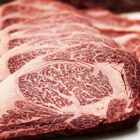 Beef - Whole Ribeye MBS 7-8 6lb average - Australian Wagyu 100% grain-fed & finished 60+ Days Aged HALAL