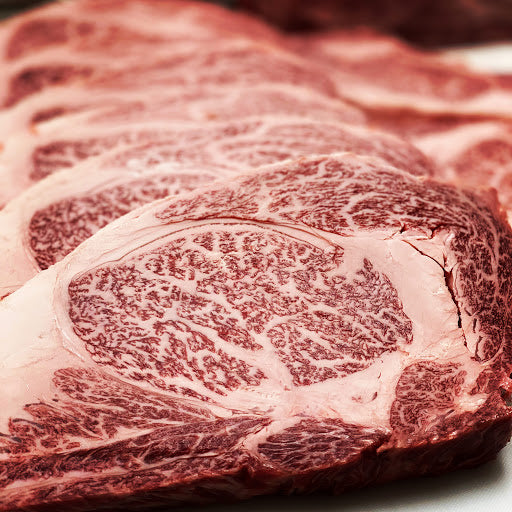 Beef - Whole Ribeye Boneless (MBS 7-8) 6lb average - Australian Wagyu 100% grain-fed & finished 60+ Days Aged HALAL