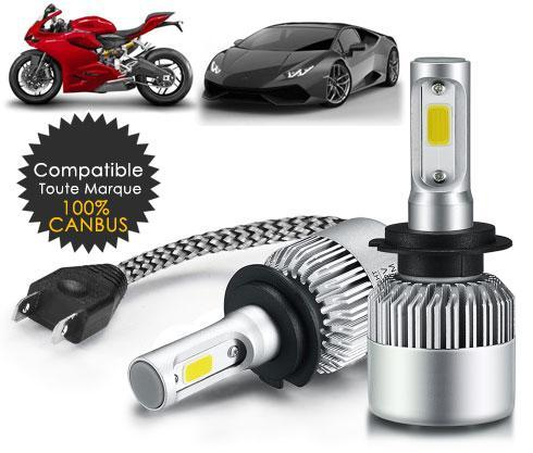 Led Ventilées Auto Moto (Version 2019 Deluxe) - E-Xclusif