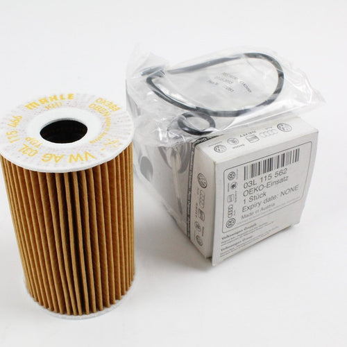 New GENUINE VW Audi Skoda SEAT 1.6 2.0 TDI oil filter with gaskets 03L115562