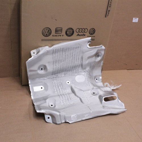 Audi A8 S8 D4 2010-17 front centre exhaust heat shield 4H0825661E