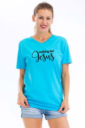 """Nothing but Jesus"" Graphic Tee"
