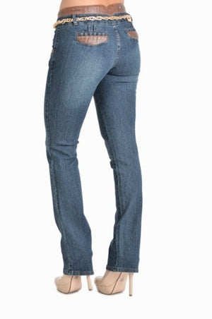 Colombian Cut High Waist Skinny Jeans