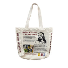 Load image into Gallery viewer, Matisse Art Newspaper Bag