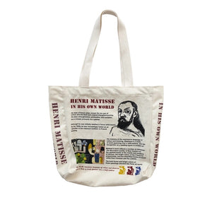 Matisse Art Newspaper Bag