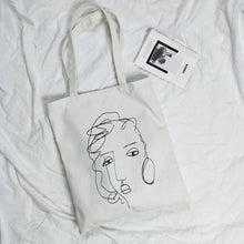 Load image into Gallery viewer, Sassy Face Tote Bag