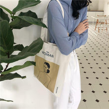 Load image into Gallery viewer, Woman Tote Bag