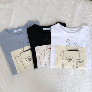 Funky Illustration Tee