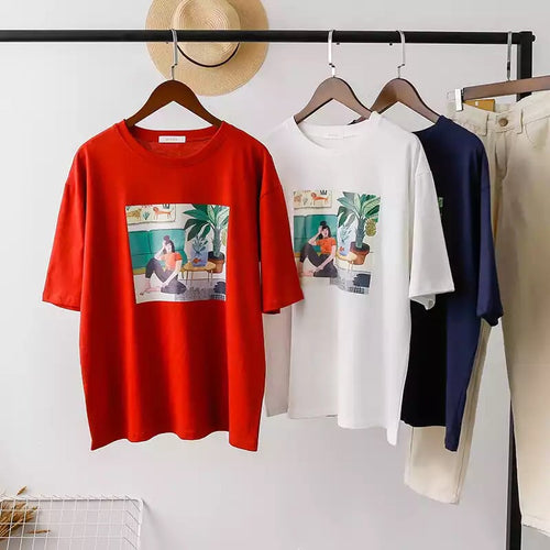Lounge Illustration Tee