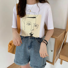 Load image into Gallery viewer, Funky Illustration Tee