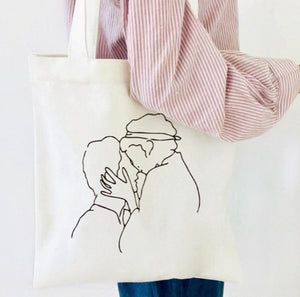 Kiss Tote Bag