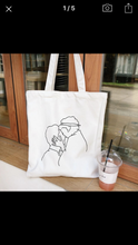 Load image into Gallery viewer, Kiss Tote Bag