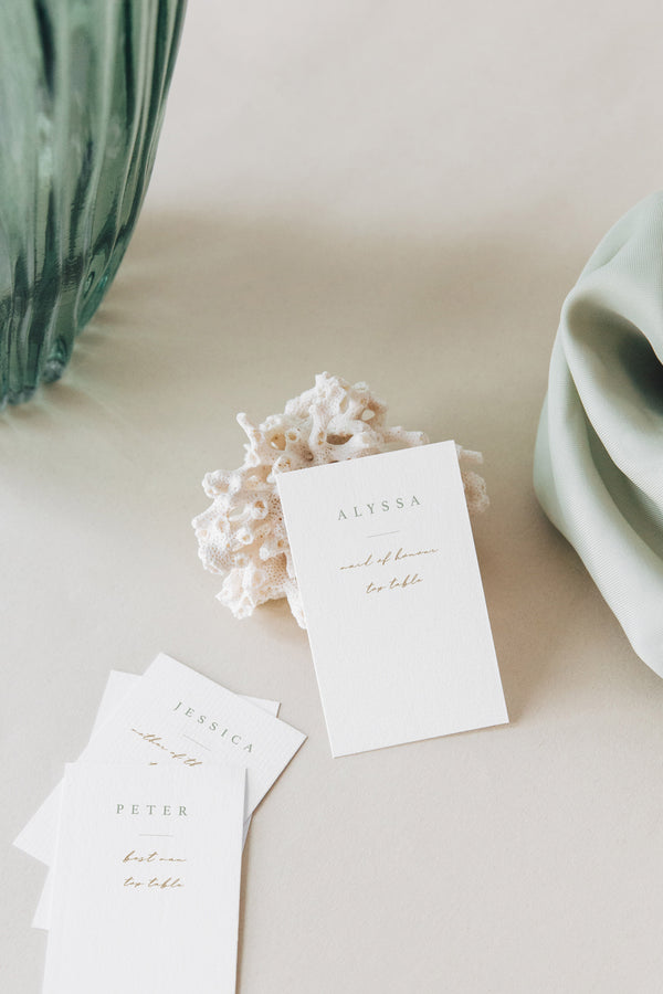 Liliah Place Cards