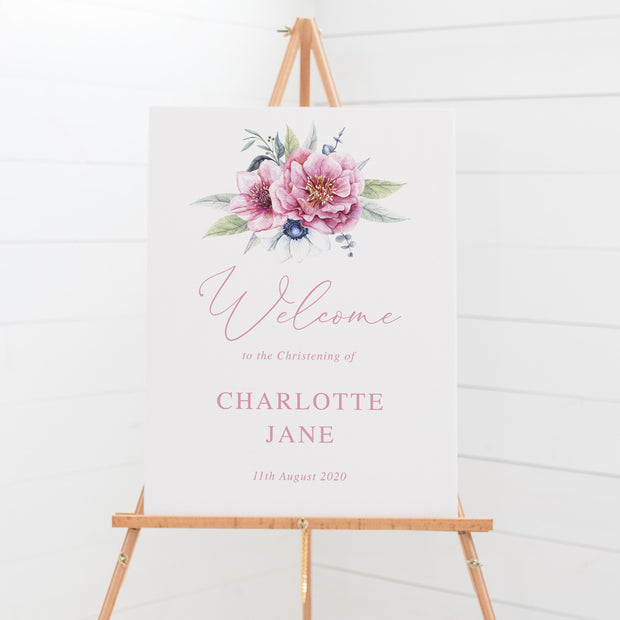 Charlotte - Welcome Sign
