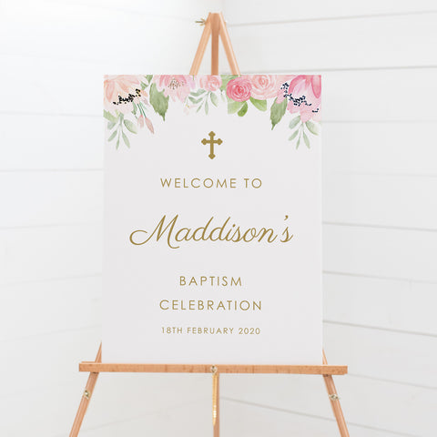 Maddison 2 - Welcome Sign