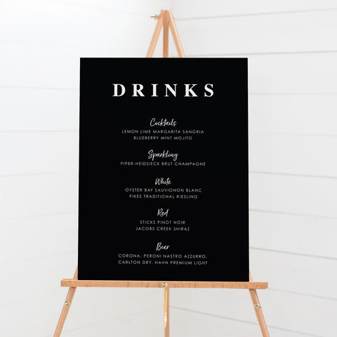 Bar & Beverages Signs - 02