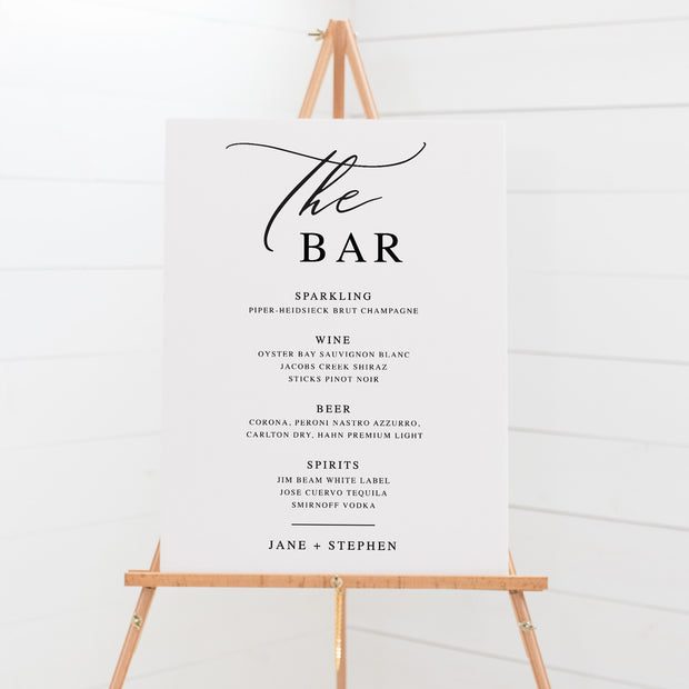 Bar & Beverages Signs - The Bar