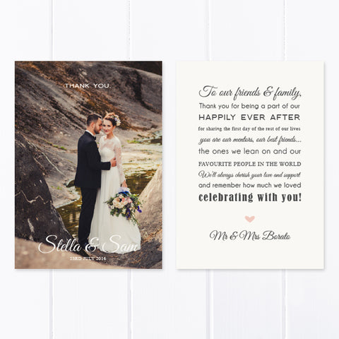 Wedding Thank You Card 02