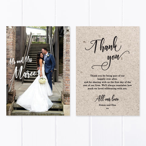 Wedding Thank You Card 16