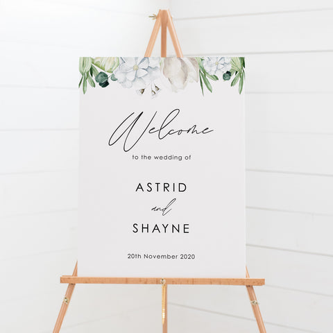 Welcome Sign - Astrid 2