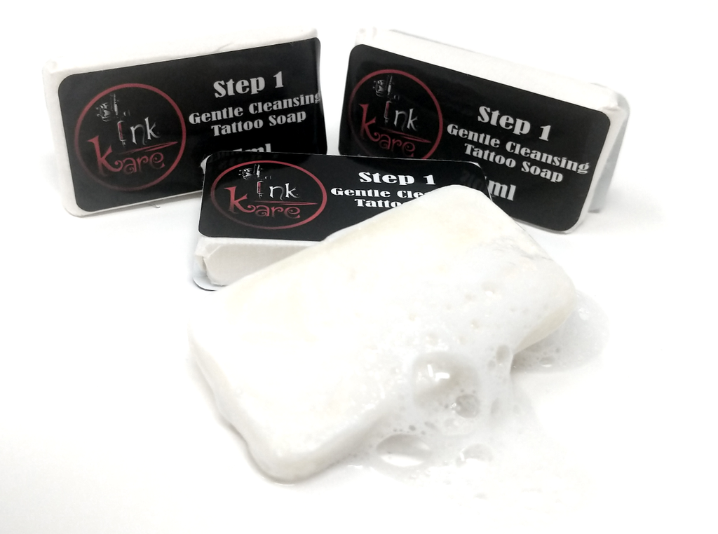 Ink Kare - Step 1 - Gentle Cleansing Tattoo Soap