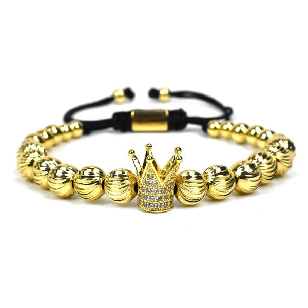 Gold Kings Only X Bracelet