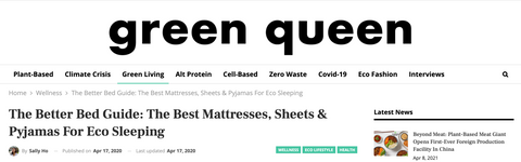 Ethical Kind in the Press- Green Queen