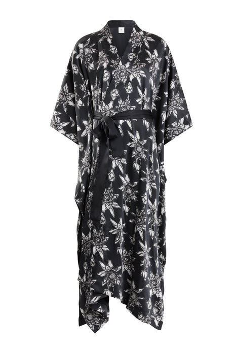 Ethical Kind Organic Peace Silk Kimono Gown