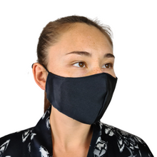 Load image into Gallery viewer, Organic Peace Silk Face Mask with Filter Pocket