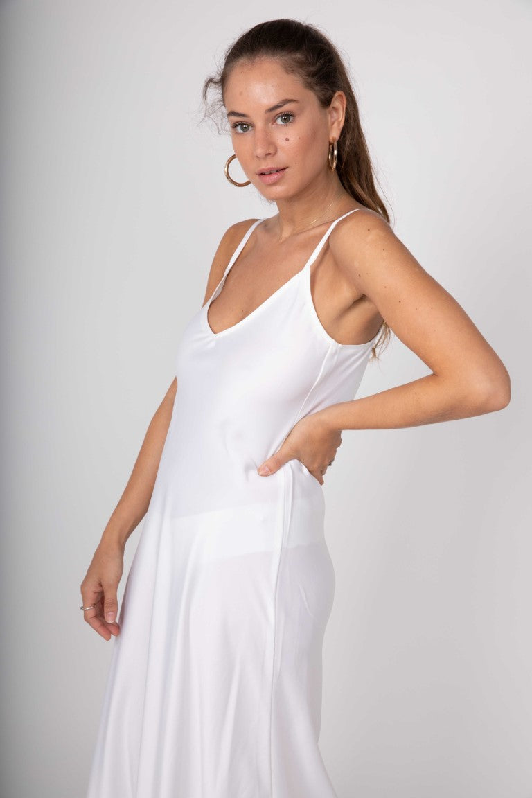 White Lara dress